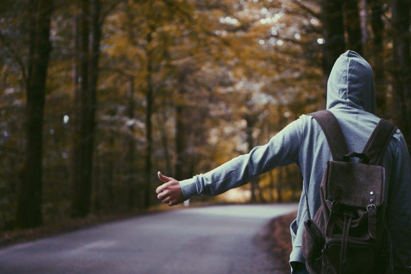 旅に出る人