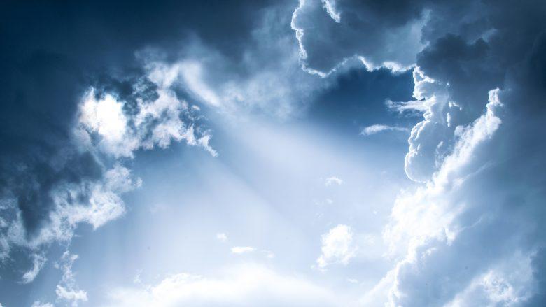晴れ晴れとした空
