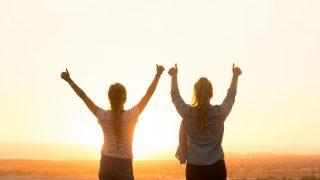 自信を持って人生を楽しんでいる人たち