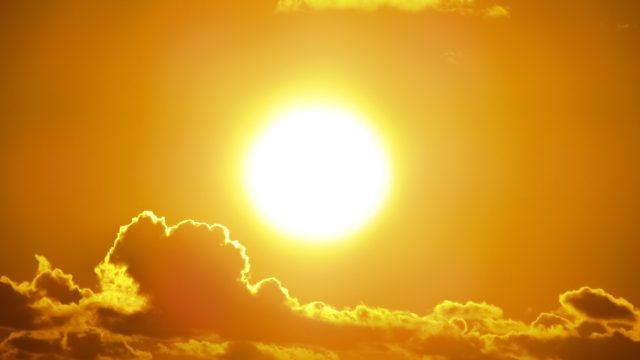 新年の太陽