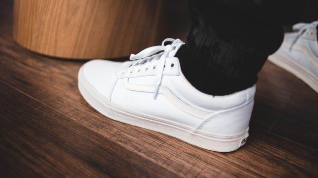 アパレル店員の靴